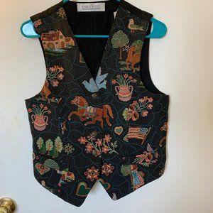 Vintage Karen Scott Vest - Size Medium